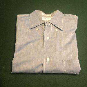 Paul Frederick Chambray-style Shirt. EUC